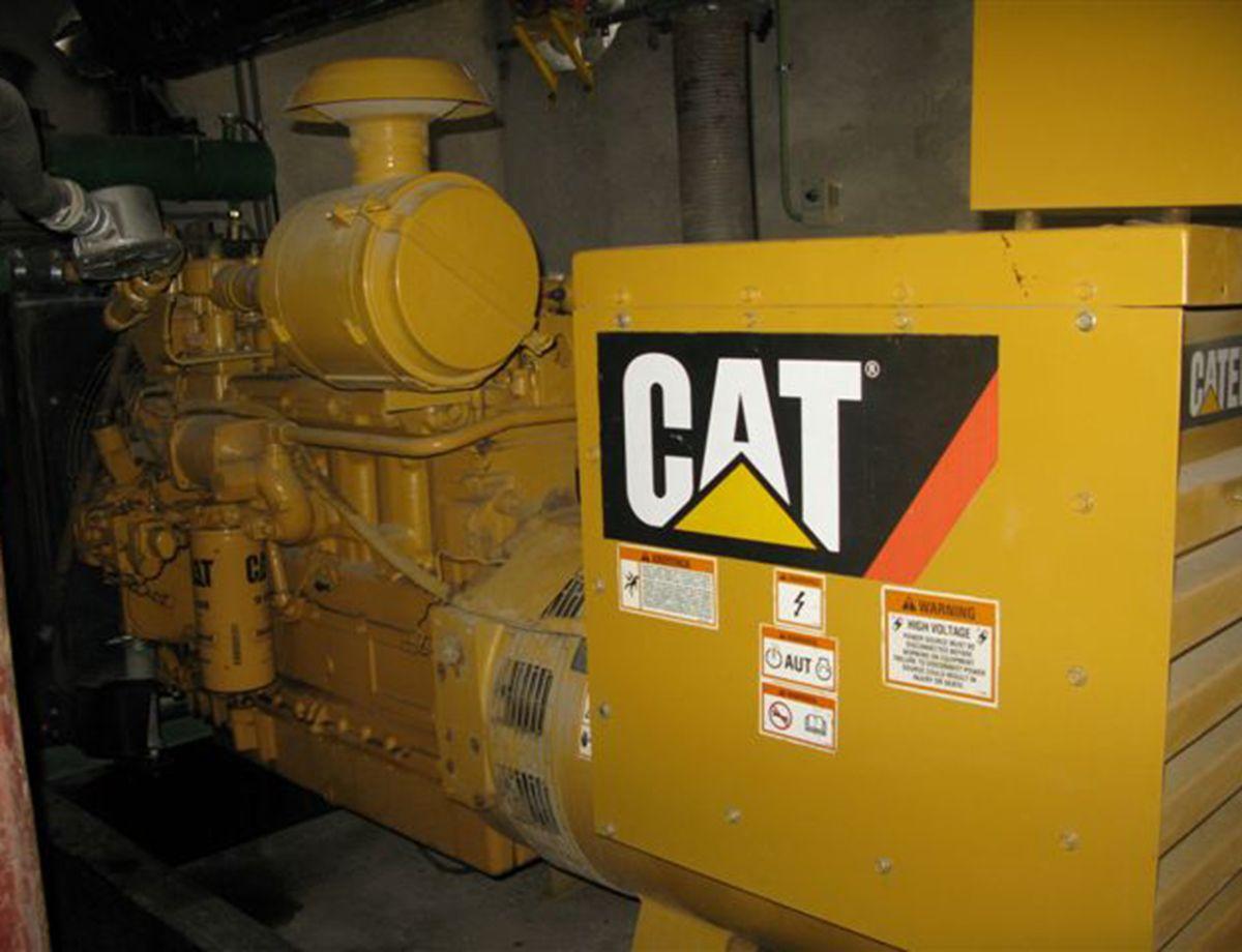Cat® G3306 biogas generator