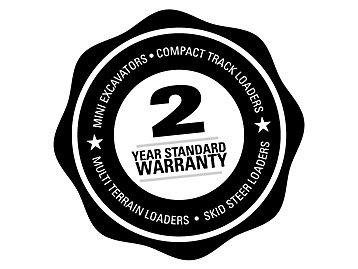 2-Year Standard Warranty