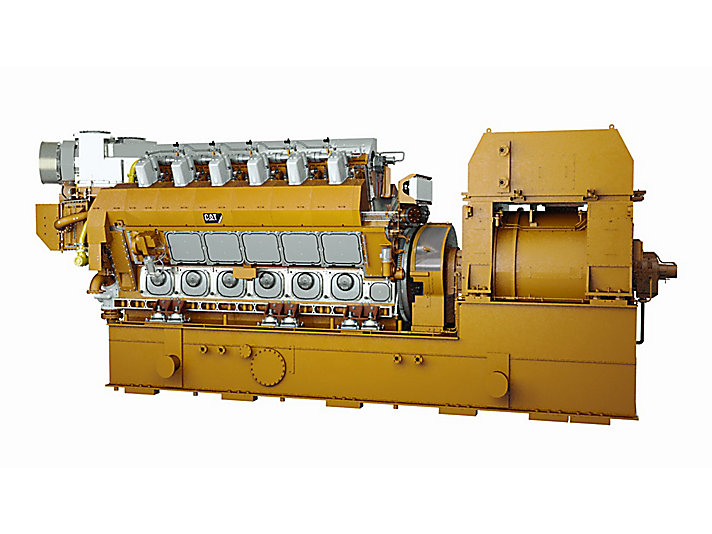 CM46DF V-Type Electronic Power Generator Sets