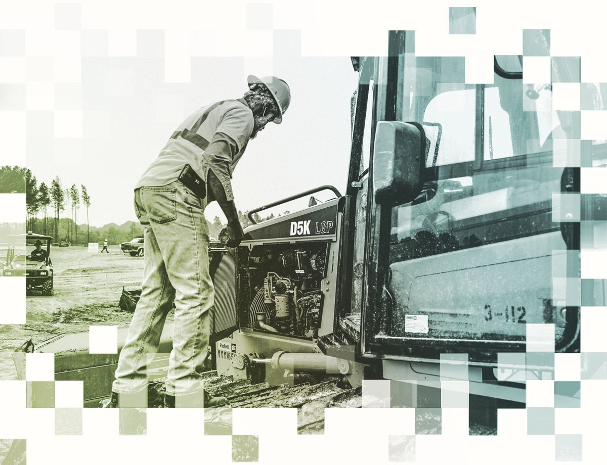 Thanks to Customer Support Agreements (CSAs) in place with Cat dealer Puckett Machinery, Hemphill Construction never misses a maintenance interval. The dealer makes sure service, maintenance and fluid sampling get done on time.