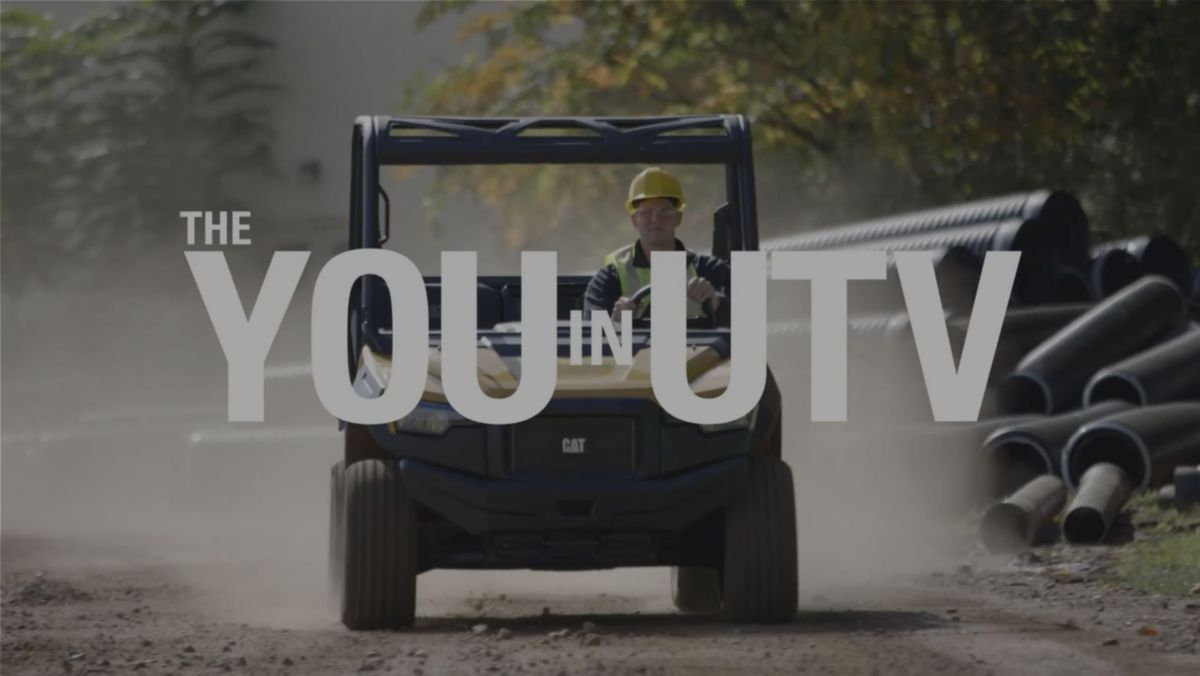 Cat Utility Vehicle Video