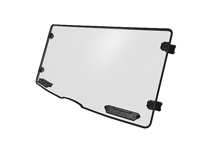 Hard Coated Polycarbonate Full Windshield with Vents
