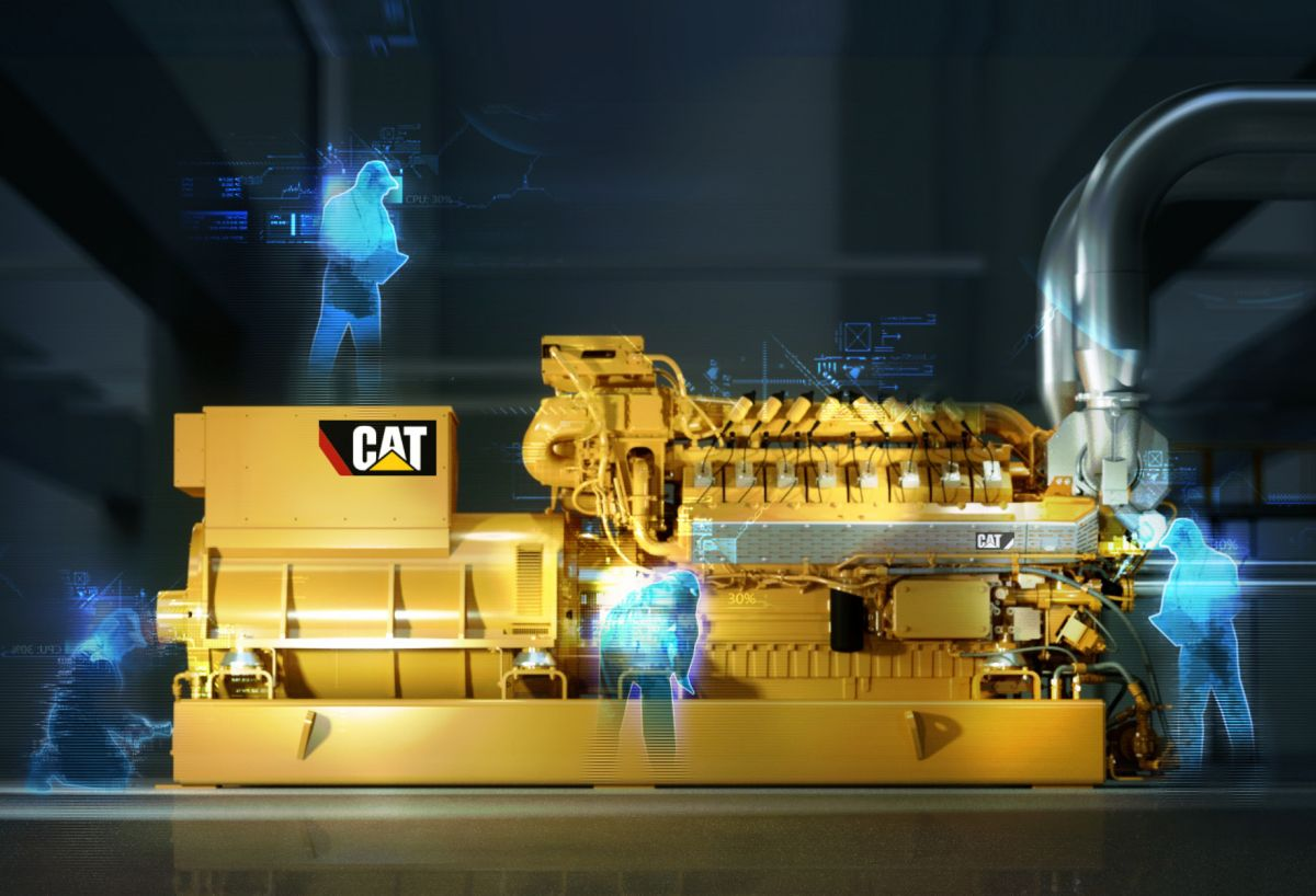 Caterpillar Launches 1 MW CG132B-16 Natural Gas Generator Set with Outstanding $/kW Performance