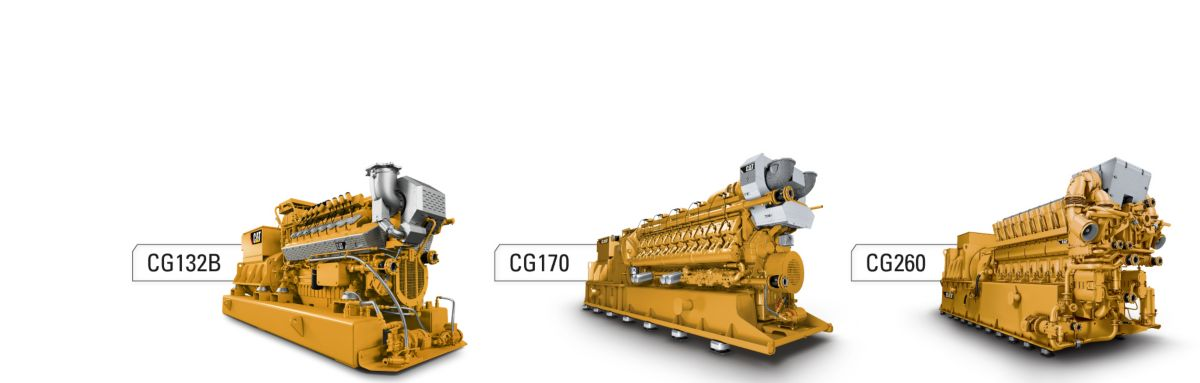 The CG Series of Gas Generator Sets