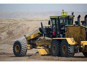 Cat 24 Mining Motor Grader