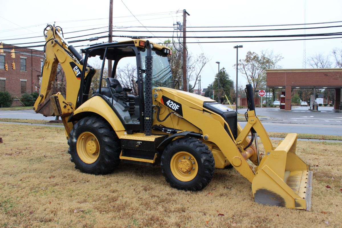 In December 2016, Caterpillar donated a Cat 420F to the City of Lumberton to use for storm cleanup.