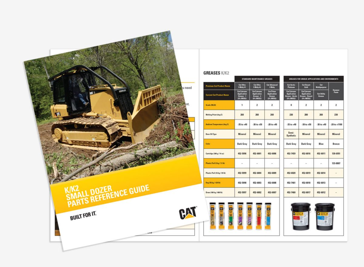 K/K2 Small Dozer Parts Reference Guide