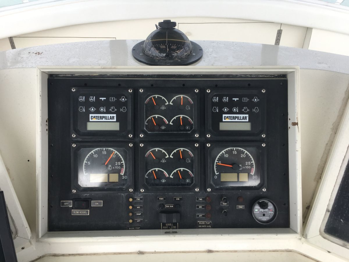 """The engines continue to provide excellent service after all these years, but the displays needed updating. This was a way to put new technology into an older vessel to help extend its life and usefulness."""
