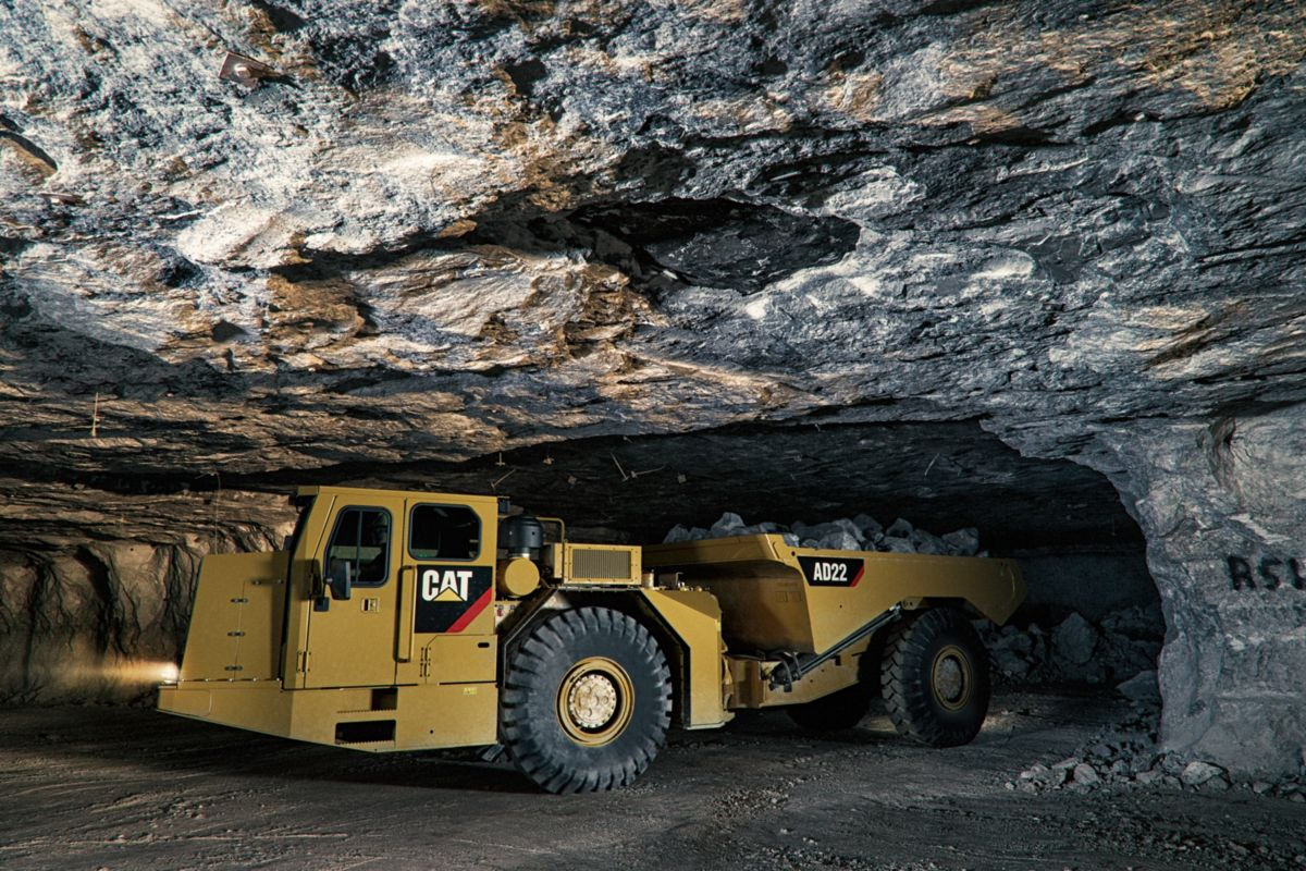 Cat® AD22 Underground Truck - Intro