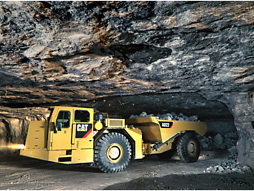 Cat® AD22 Underground Articulated Mining Truck