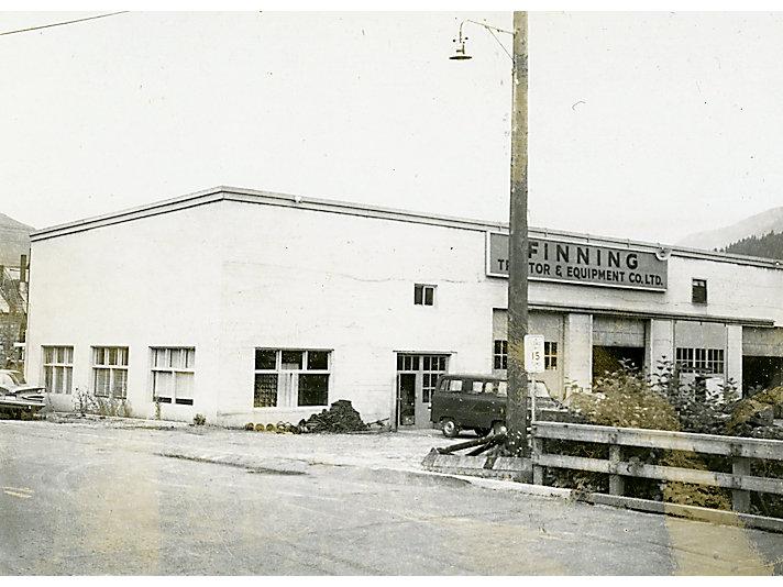 Finning Cat facility, ca. 1960.