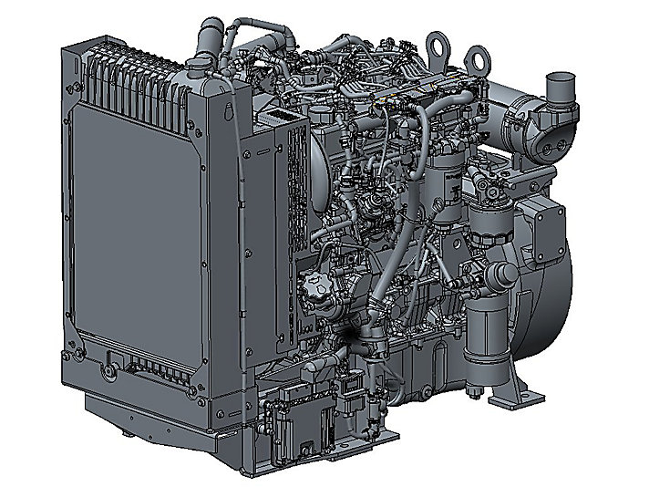 854F-E34TG Electric Power Diesel Engine