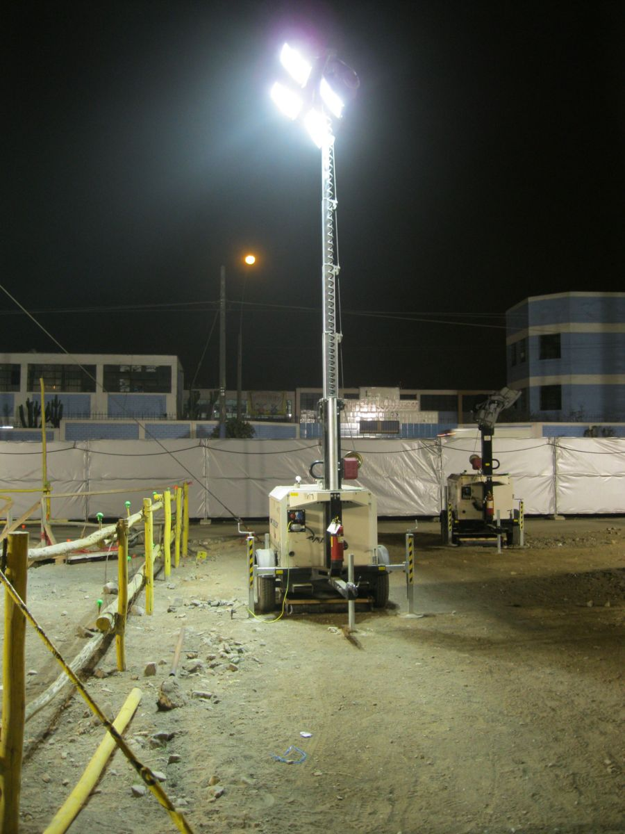 Generac lights the way for builders in Benin