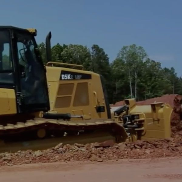 Cat® Small Dozers - Overview of the New D3K2, D4K2 and D5K2