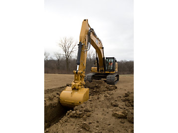 Cat GRADE with 2D for Excavators