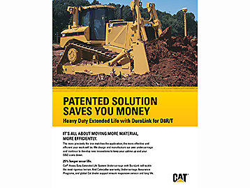 Cat HDXL with DuraLink for D8R/T