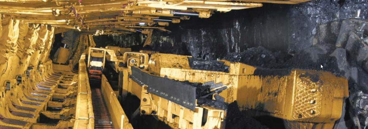 Cat® EL3000 Shearer - Longwall Mining
