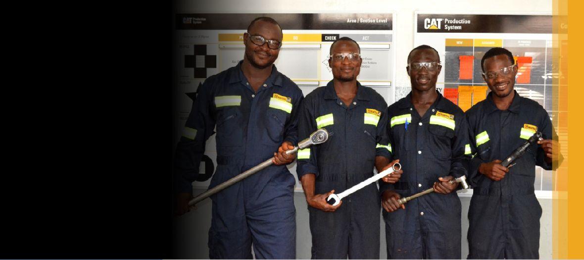 Technicians in Africa