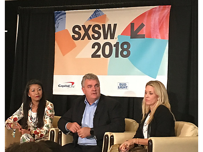 Group President Rob Charter joins panelists from Nike and Pandora at SXSW.
