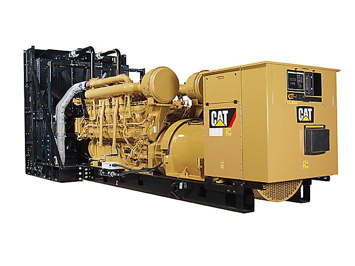 3512C Diesel Generator Sets Rear left
