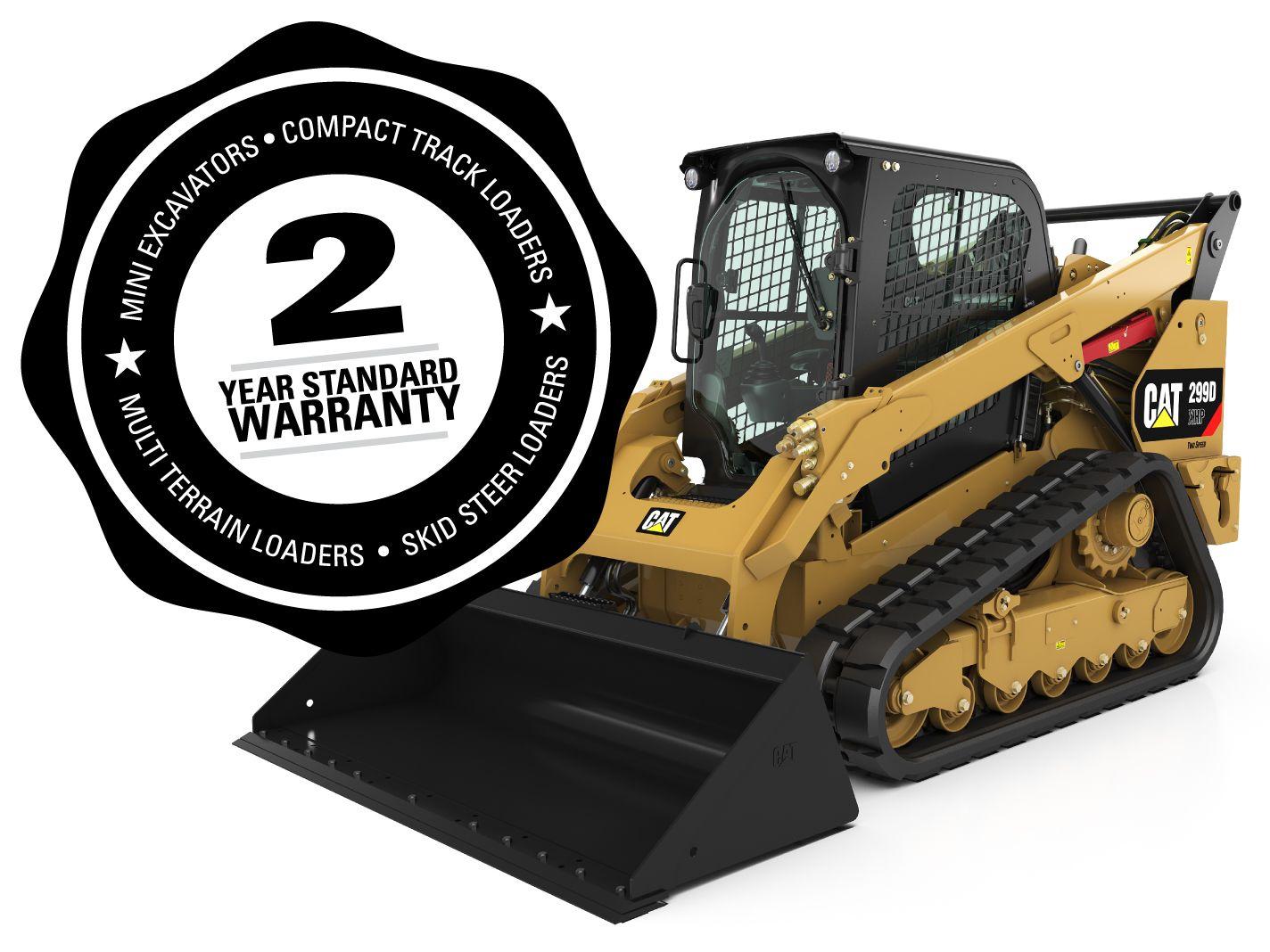 New, 2-Year Standard Warranty
