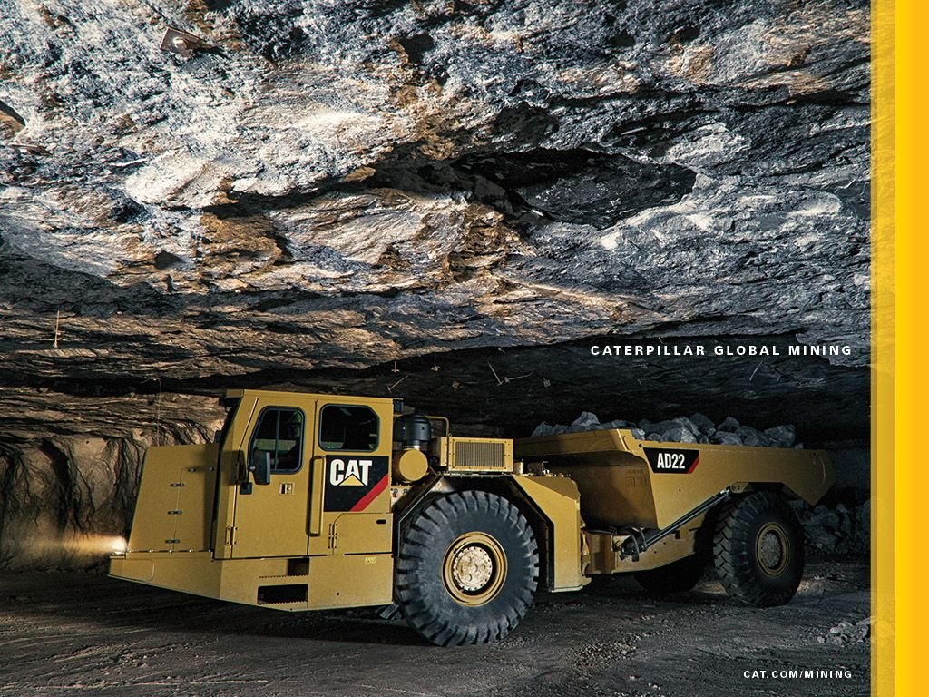 Cat® AD22 Underground Truck - Wallpapers