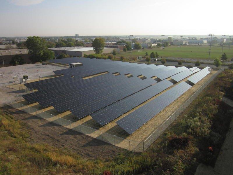 Cat® Dealer Altorfer Installs Solar Solution in St. Charles, Ill.
