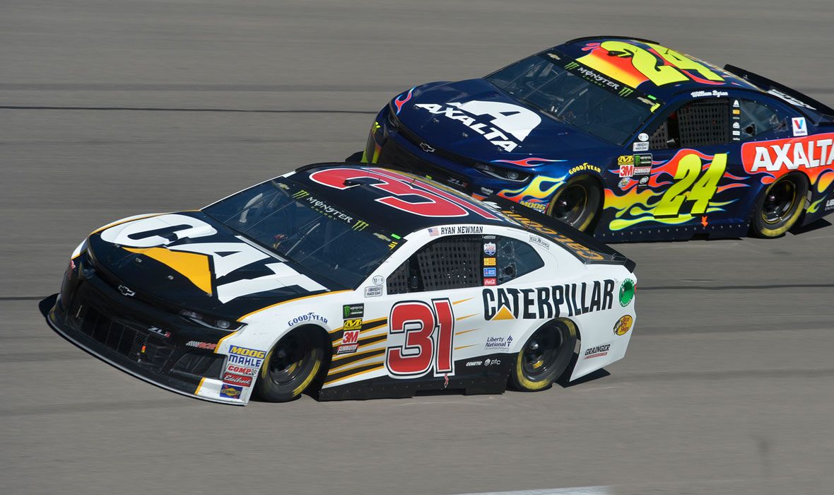 Cat Racing Team in the 2018 Monster Energy NASCAR Cup Series