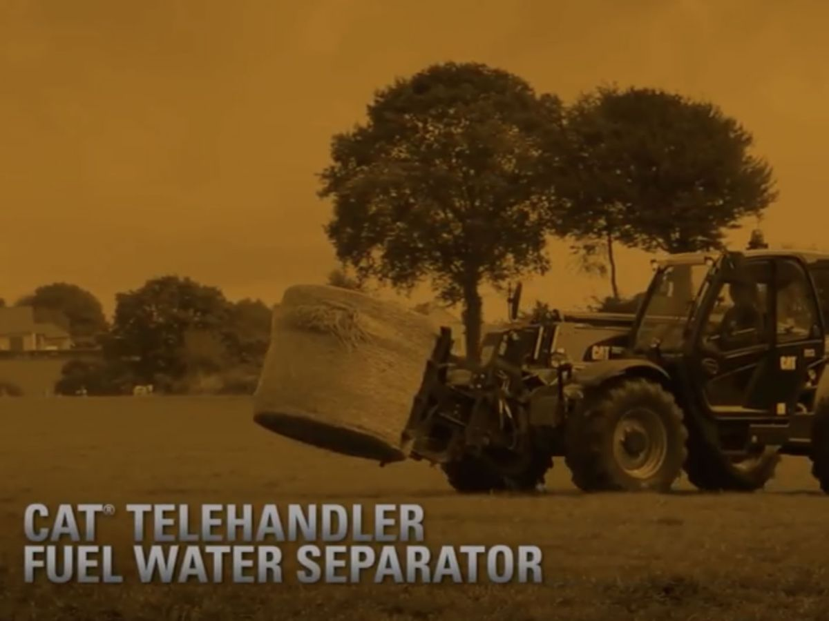 Cat® Telehandler Fuel Water Separator