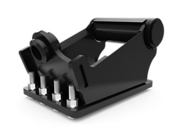 1/4 yd Mounting Bracket - Pin Lock