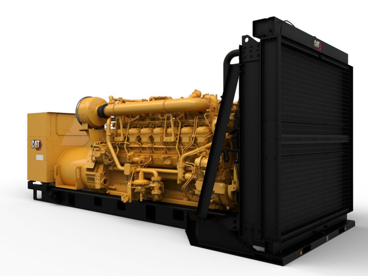 Caterpillar Launches Diesel Generator Sets with Factory-Installed Dynamic Gas Blending™