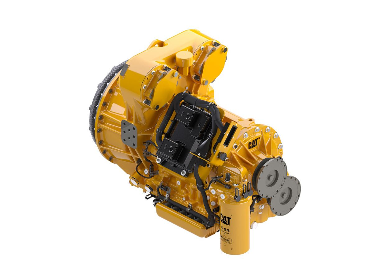 Only the Cat® CX31-P600 Well Service Transmission features Cat Dynamic Transmission Output, exclusive technology that enables manual-shift Automated Speed Control — giving well service operators a new tool for low-flow operations.