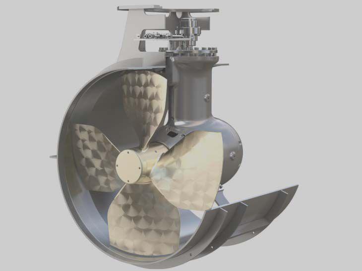 Marine Thruster Transverse