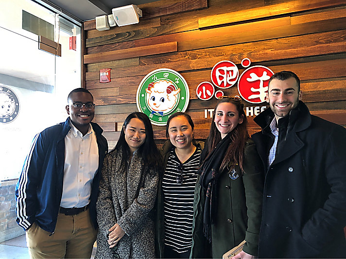 2nd place - Rutgers University - Sophie Meier, Amanda Yip, Ying Wang, Romario Nicholas, and Bryan Fontanetta