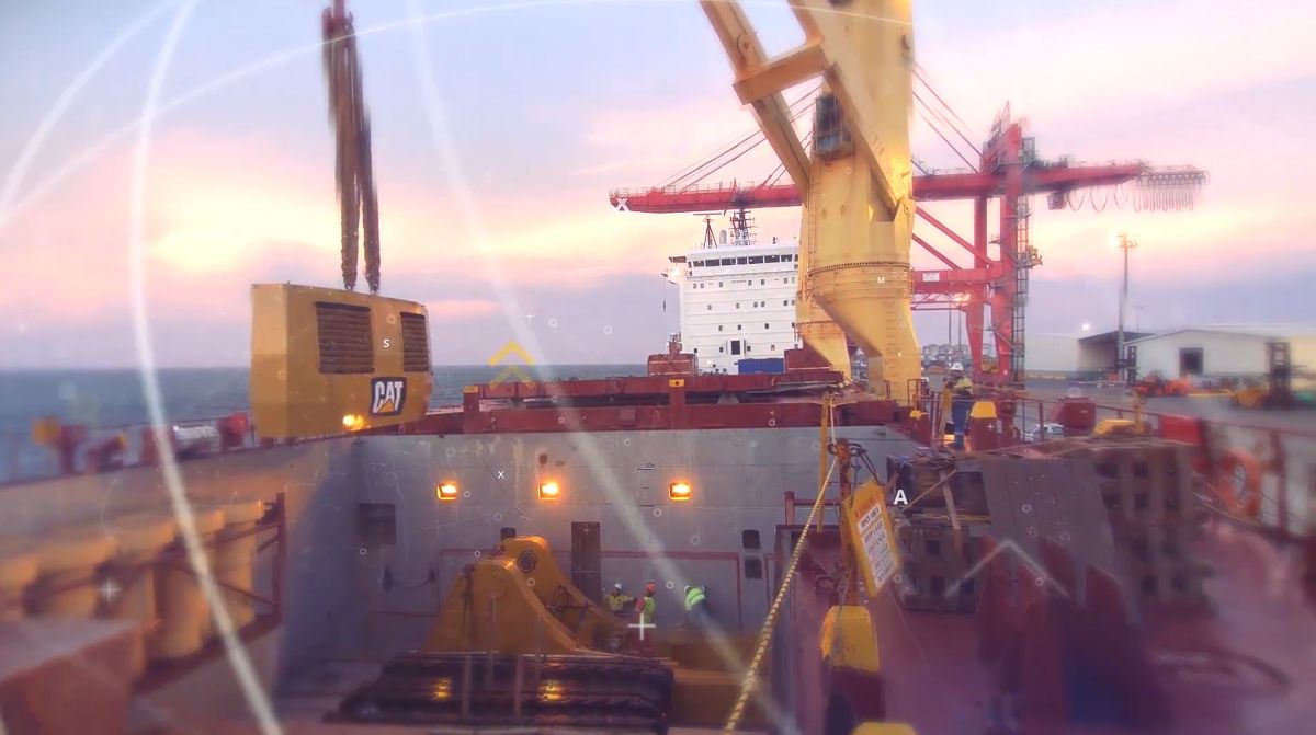 Cat® 6040 HMS Assembly in Australia (Time Lapse Video)