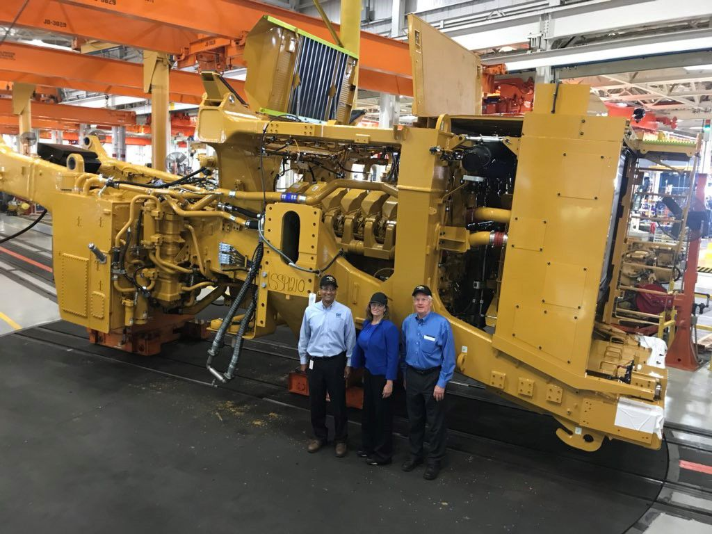Caterpillar Marks Production of 5,000th 793 Mining Haul Truck