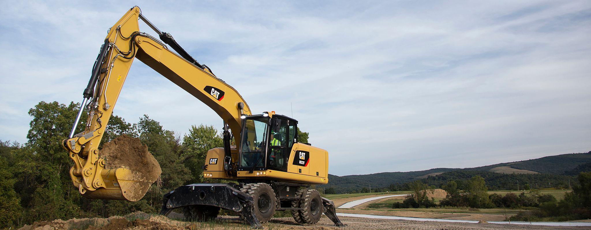 wheeled excavator oklahoma
