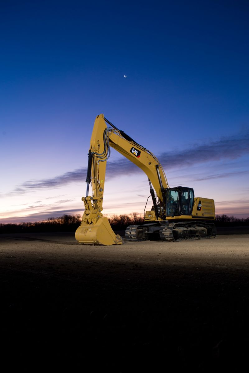 The new Cat Next Generation 336 excavator