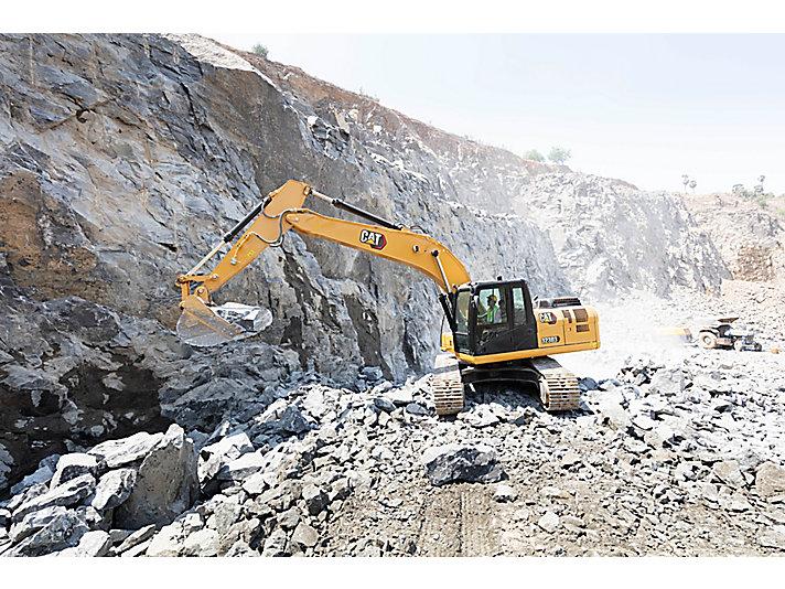 323D3 Medium Hydraulic Excavator