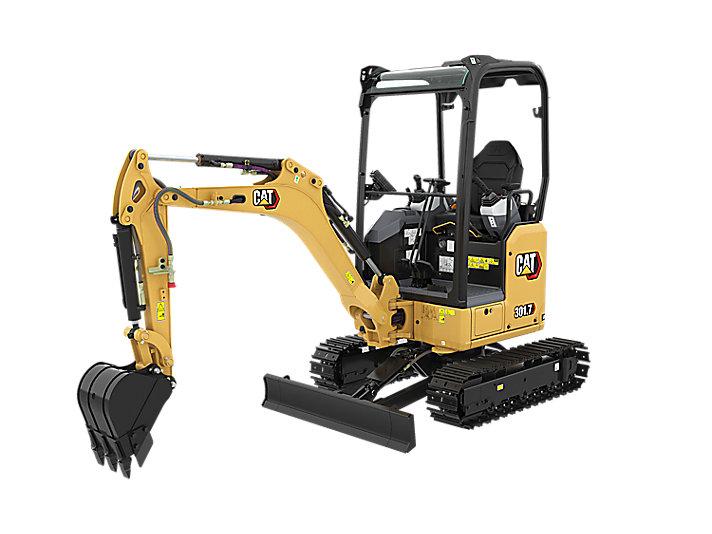 301.7 CR 小型液压挖掘机