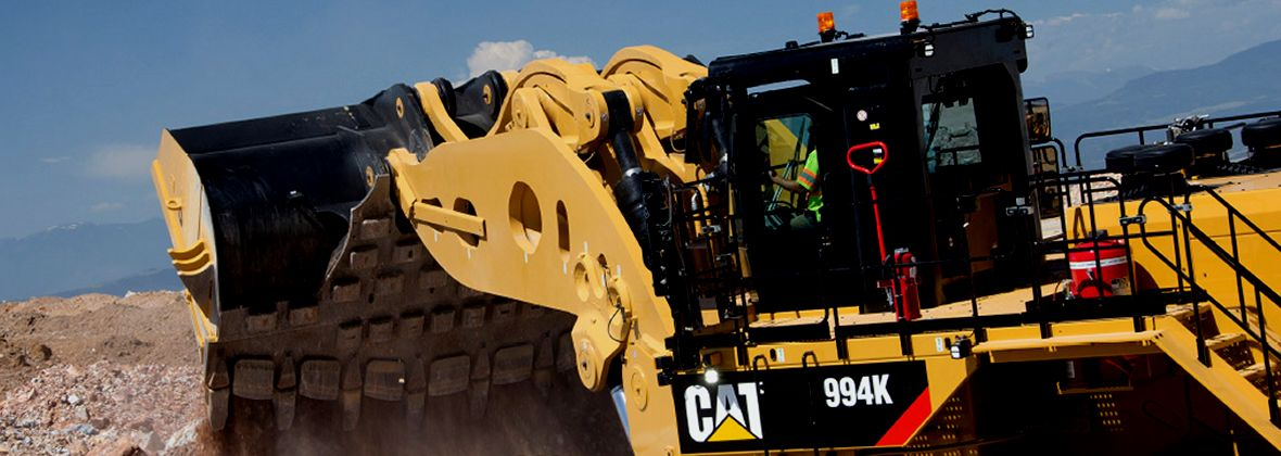 Versatile Loading Tool: Cat® 994K Wheel Loader for Mining