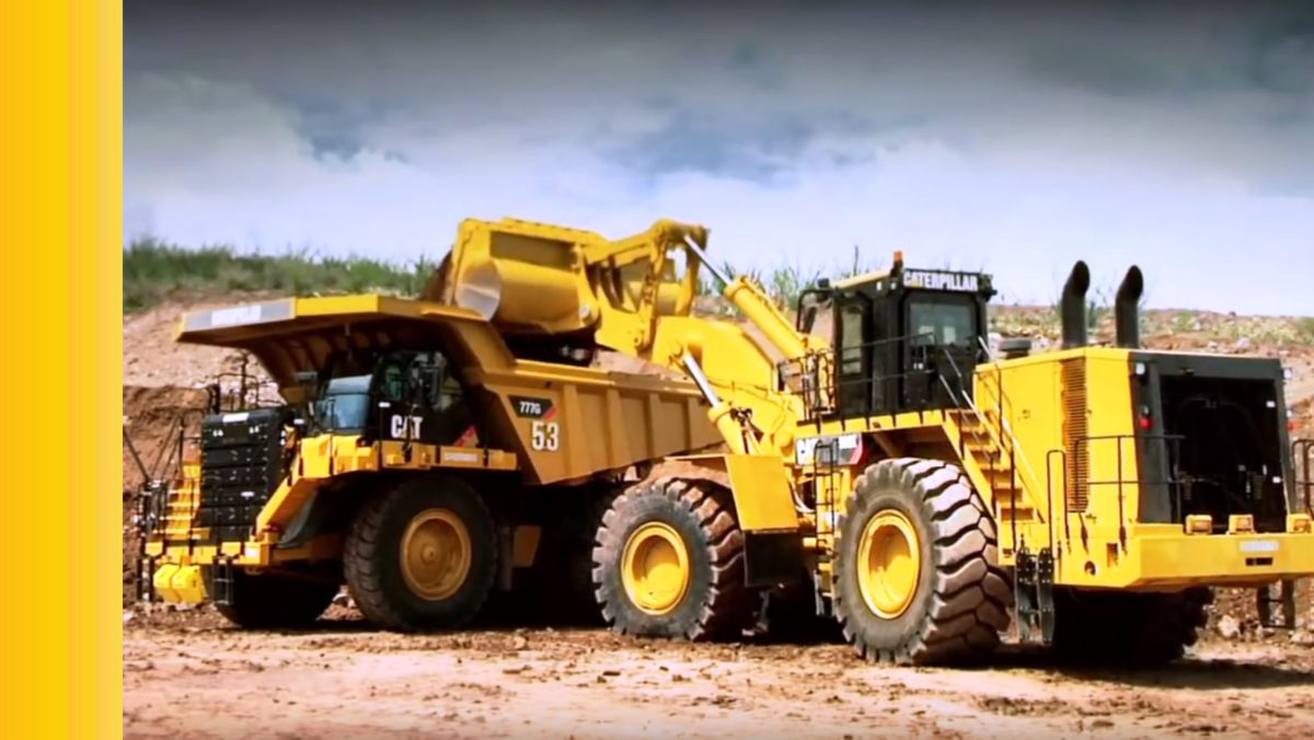 The Cat® 992K and 777G - A Perfect Pair  (Video)