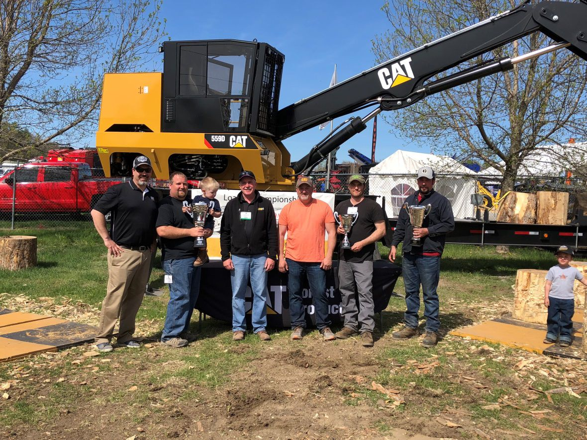 2018 Northeastern Expo, Loader Championship, Essex Junction, Vermont, sponsored by Caterpillar Forest Products