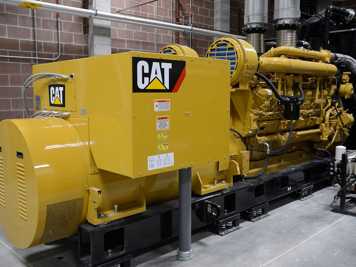 G3520C natural gas-fueled generator