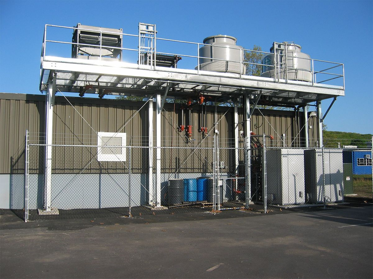 The cogeneration plant provides more than 100 percent of PEPCO's electricity needs and 95 percent of its heating and cooling needs.