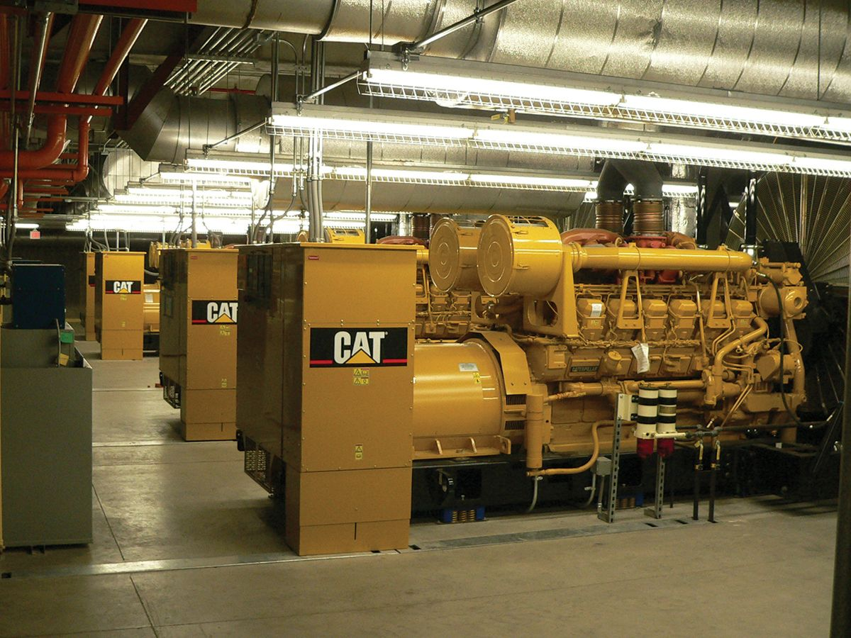 The new generator facility needed to be built close to the existing electrical infrastructure yet could not be located within existing structures because of space limitations.