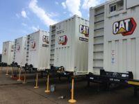 Rental generators providing temporary power