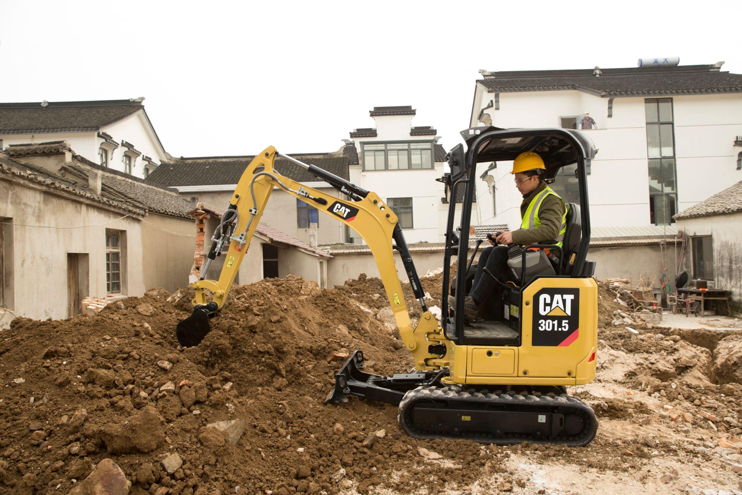 Cat 301.5 新一代迷你型挖掘机
