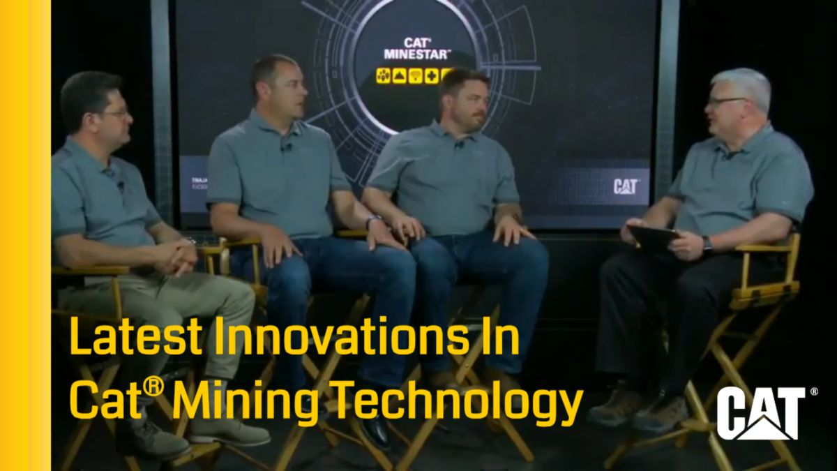 The Latest Innovations In Cat® Mining Technology