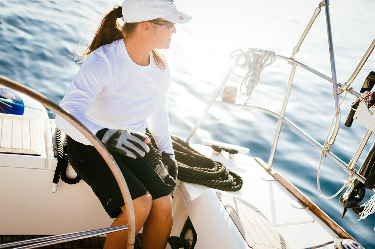 A Salute To Women Of The Boating World
